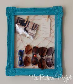 quardar oculos e fotos