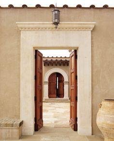 Gate to Courtyard - www.tuckerandmarks.com