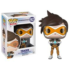 Funko POP Games Overwatch Tracer Figure - Video Game Collectibles, by Funko, Funko POP Overwatch Tracer Vinyl Figure - 92 Cheers, love The new Overwatch Pop s are here Assemble your team and get ready to move the payload These 3 3 4 tall figures ha. Overwatch Tracer, Overwatch Pop Vinyl, Overwatch Action Figures, Figurines D'action, Funko Pop Figures, Vinyl Figures, Funko Exclusives, Moda Pop, Shopping
