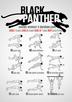 Black Panther Workout