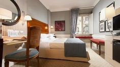 Hotel Stendhal: Rome, Italy. Walking distance to the Spanish Steps and Trevi Fountain.