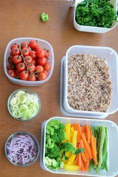 Como cozinhar em quantidade para a semana?