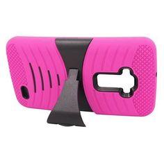 Pink Armor Skin Hard Rugged Case Cover Hybrid Heavy Duty For LG G Flex  #Premium