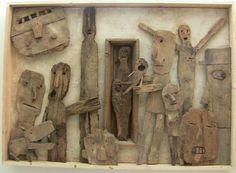 Les Chats Pelés Morel, Craft Materials, Wood Design, Diy And Crafts, Clock, Wall, Home Decor, Cats, Watch