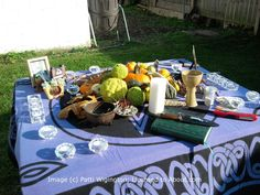 Set Up Your Altar for the Samhain Sabbat: Your Samhain altar can celebrate the end of the harvest season.