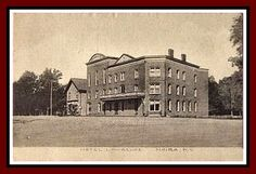 Hotel Moira circ 1900.  This sat on the four corners in Moira, NY.  Today (2017) the building has been replaced with a park...It had to be torn down because it became unsafe.