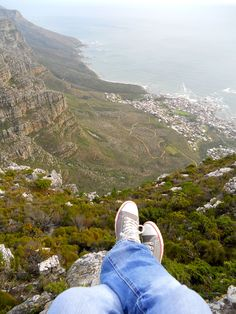 Table Mountain. Cape Town. Amazing.