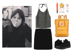 """""""#"""" by juliahupkes ❤ liked on Polyvore featuring Clinique, Marc Jacobs, Fjällräven, Nails Inc. and Converse"""