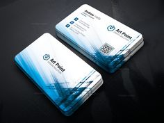 Aether Professional Corporate Business Card Template 001317