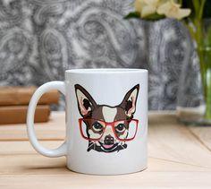 Brown Chihuahua Coffee Mug