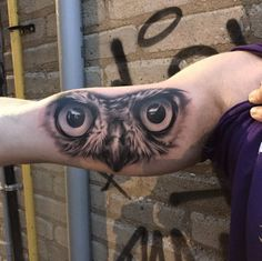 Owl Eyes by Mike Storey