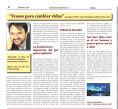 Artículo mes de diciembre del periódico La Brújula del Norte. Espero que os guste... http://www.labrujuladelnorte.com/