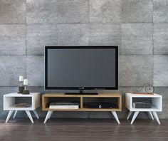 Set comoda TV si 2 masute San Marino