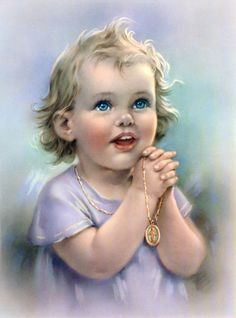 """""""God in heaven hear my prayer, keep me in thy loving care. Be my guide in all I do, Bless all those who love me too. Amen."""" - traditional"""
