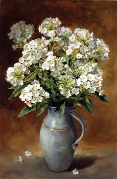 White Phlox - Limited Edition Print | Mill House Fine Art – Publishers of Anne Cotterill Flower Art