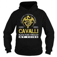 I Love CAVALLI Blood Runs Through My Veins - Last Name, Surname TShirts Shirts & Tees