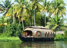 Until we have a house and a yacht, honey, we'll Kerala.
