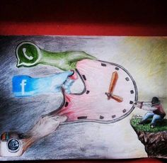 Social Networks and time