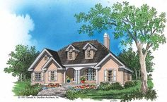 Eplans Country House Plan - Bayed Dining Room - 1770 Square Feet and 3 Bedrooms from Eplans - House Plan Code HWEPL07149