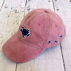 Shelly Logo Cap - Nautical Red - Shelly Cove  - 1