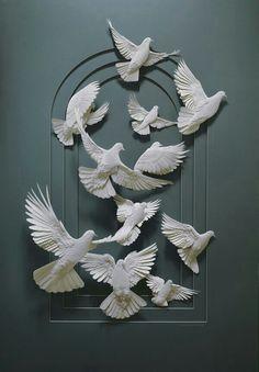Beautiful dove decor