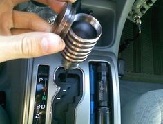 Secret Compartment Shift Knob: Cleverly Hide Your Stuffs!