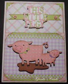 Glenda's Cards: Cricut Country Life