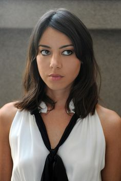 Aubrey Plaza current wifey, from Parks & Recreation on NBC. She's hot and funny win-win. We got a good thing going. Did I mention she's Latina?