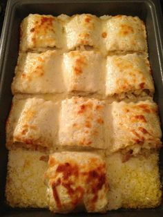 Chicken Alfredo roll-ups. via Melissa Medford!! YUM!!! FOR MORE RECIPES COME TO AMY'S DOWN HOME COOKING ON FACEBOOK.