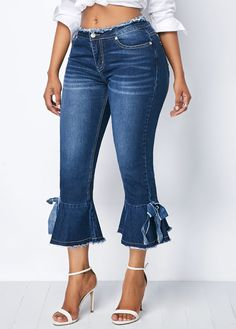women's trousers Pants For Women Denim Fashion, Fashion Pants, Fashion Outfits, Womens Fashion, Dress Outfits, Cool Outfits, Casual Outfits, Denim Outfit, Denim Pants
