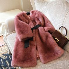 2017 winter new ultra atmospheric fur coat female long section was warm coat (excluding belt)-in Faux Fur from Women's Clothing & Accessories on Aliexpress.com | Alibaba Group
