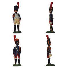 """Granadero a caballo de la Guardia Imperial - 1804-1815 (Colección """"La Grande Armée de l'Empereur"""" editada por """"Le Médailler Franklin"""")"""