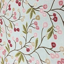 Java Duckegg Floral Cotton Curtain Fabric 1.5m