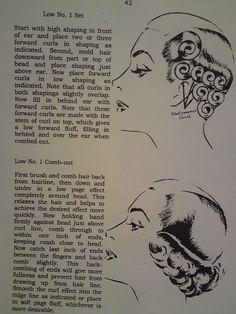 (pin curls, wet set, Vintage hair tutorial)