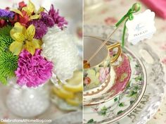 Tea Party Bridal Shower Ideas — Celebrations at Home