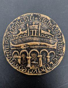 Historical Reproduction. Resin Replica The Seal Of William The Conqueror