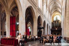 Wielka i bardzo ładna Katedra Najświętszej Marii Panny w Antwerpii