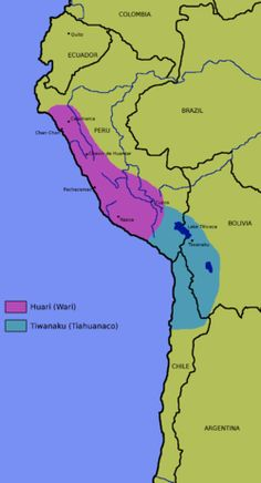 The Wari (Spanish: Huari) were a Middle Horizon civilization that flourished in the south-central Andes and coastal area of modern-day Peru, from about AD 500 to 1000.