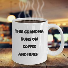 Gift for Grandma  Funny Coffee Mug for Mama Grandmother Tea
