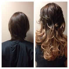 #hotheadshairextensions #hairextensionspecialist #extensions #ombre #elyserox00 #elysedoeshair