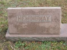 Rev Frank Sweet Hemingway (1894 - 1965) - Find A Grave Photos Rev Frank Sweet Hemingway Memorial Photos Flowers Edit Share Learn about sponsoring this memorial... Birth: 	Sep. 25, 1894 Death: 	Jul. 25, 1965    Family links:   Parents:   Bruce Walter Hemingway (1868 - 1941)   Jennie E. Sweet Hemingway (1869 - 1916)    Spouse:   Lavina L. Jones Hemingway (1882 - 1961)    Children:   Frank S. Hemingway (1920 - 2004)*   *Calculated relationship   Note: Frank Sweet, first child of Bruce and…