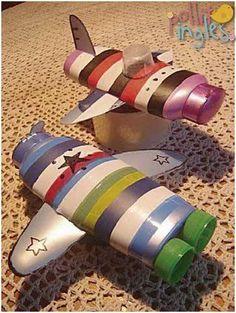 Crea la mejor nave espacial para tus chiquitos con potes de champu