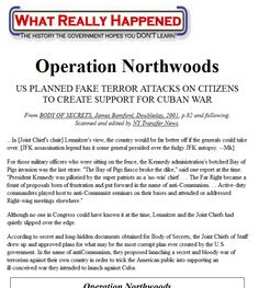 US PLANNED FAKE TERROR ATTACKS ON CITIZENS TO CREATE SUPPORT FOR CUBAN WAR Operation Northwoods, Transfer News, What Really Happened, Conspiracy Theories, Cuban, Citizen, War, Shit Happens, How To Plan