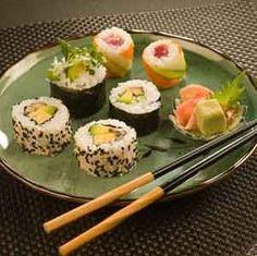 Cómo preparar sushi vegetariano