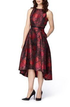 Tahari Metallic Jacquard Midi Dress available at #Nordstrom