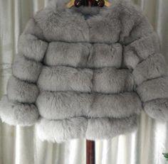 Posh Fox Fur Jacket