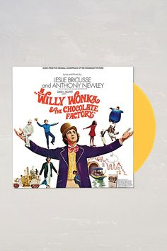 Leslie Bricusse And Anthony Newley - Willy Wonka And The Chocolate Factory Soundtrack LP