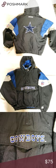 the latest 6f86f bd480 Dallas Cowboys NFL Apex Vtg Jacket My Posh Picks Jackets