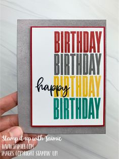 Color Contour, Scrapbook Cards, Scrapbooking, Basic Grey, Masculine Cards, Greeting Cards Handmade, I Card, Stampin Up, Birthday Cards