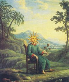 The alchemist who has achieved illumination from Alchemy - The Golden Art by Andrea de Pascalis